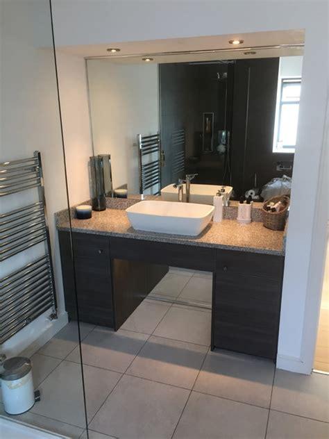 bungalow family bathroom custom made vanity unit