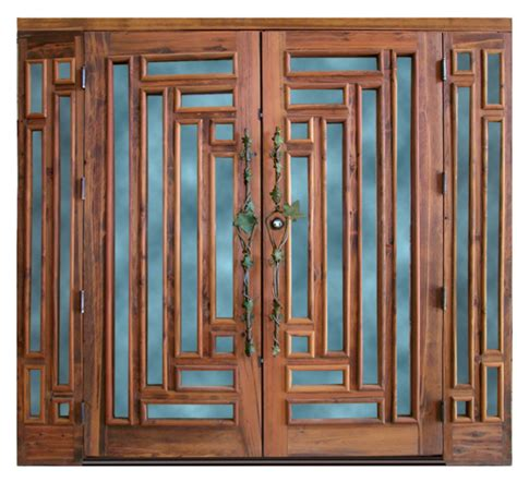custom craftsman doors contemporary classic door designs