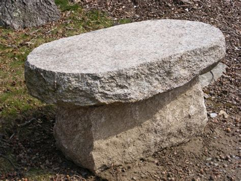 bench stones new england fieldstone stone benches