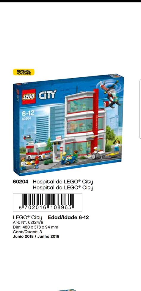 City Set 3 lego city 3 story hospital set coming out later this year