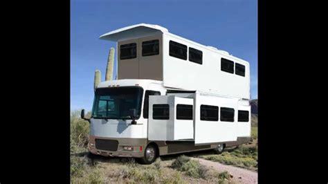 2 story popup rv motorhome design in arizona