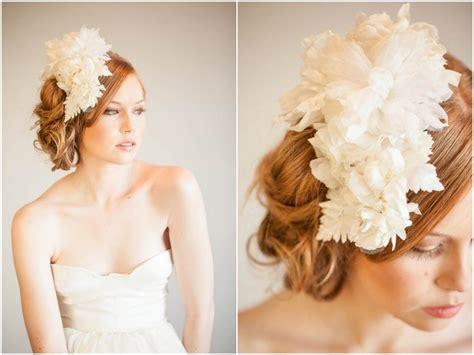 Handmade Bridal Headpieces - floral headpieces bridal accessories mignonne handmade