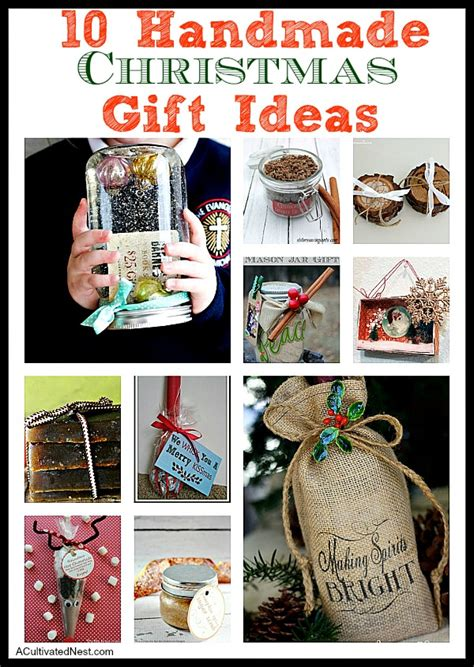 10 easy christmas gifts to make 10 inexpensive handmade gifts a cultivated nest