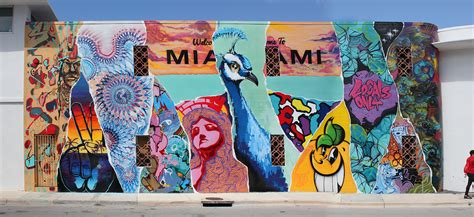 Wall Stickers And Murals midpoint miami mural mashup cushy gigs