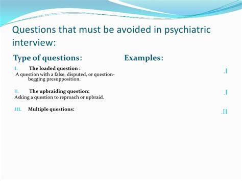 copy of psychiatric