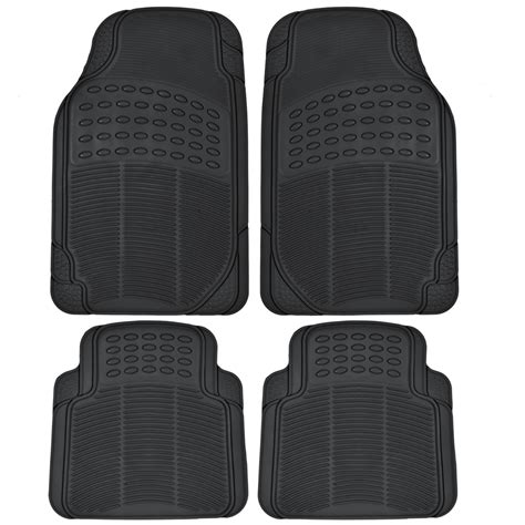 All Season Floor Mat by 4pc Heavy Duty Rubber Floor Mats Tough All Season Car Protection Ebay