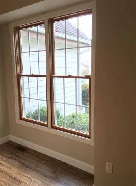 Painting Wood Windows White Inspiration Wood Windows White Trim Shaw Laminate Floor In