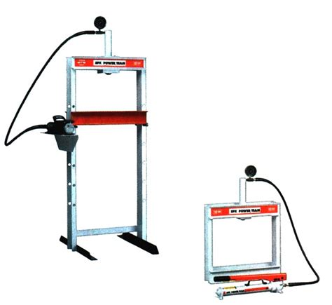 bench floor press item sph1010 bench floor press h frame 10 tons press on