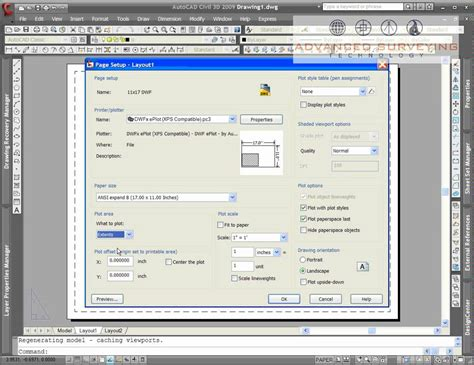 create layout on autocad how to create a named page setup in autocad youtube