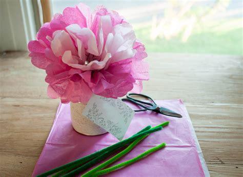 fiori semplici di carta fiori di carta per bambini lavoretti facili fai da te