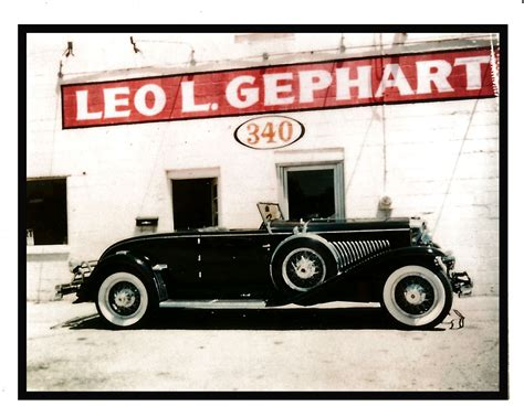 Leo Back On The Market by Classic Car Pioneer Leo Gephart Remembered Classiccars
