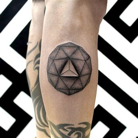 tattoo 3d geometric 17 best images about dotwork triangle on pinterest moth
