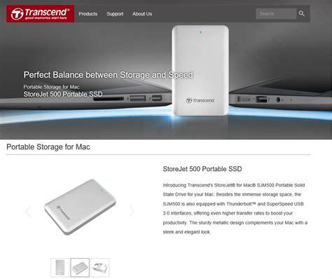 Ssd Transcend Ssd340ssd370 256gb Ssd 25 หน าท 1 transcend storejet 500 256 gb for mac