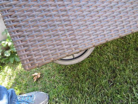 lettini rattan da giardino lettino da giardino piscina in polyrattan marrone mod