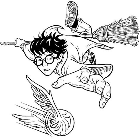 coloring page quidditch 17 best images about quidditch on pinterest draco malfoy