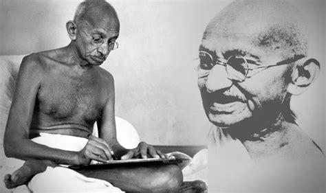mahatma gandhi biography article how mahatma gandhi did not let syed haider raza leave