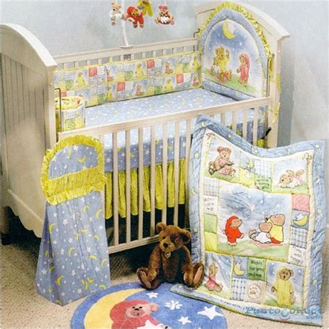 bear crib bedding baby stores boyds bears stargazing 4 piece crib bedding set