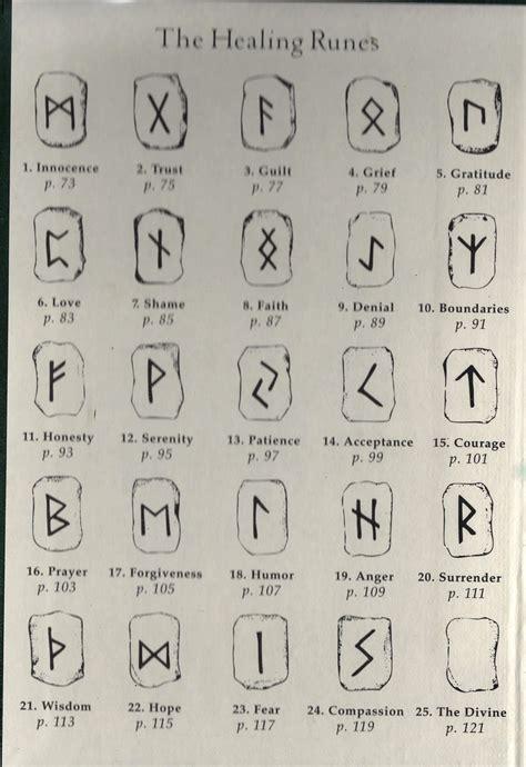 tattoo runes meaning healing runes meanings surrender tattoos pinterest