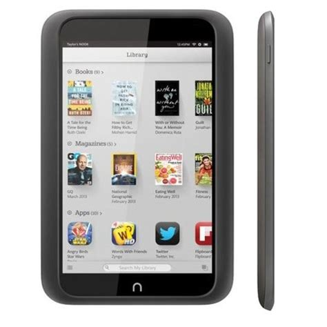 android for nook nook hd 8gb slate android tablet best price