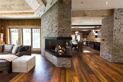 Cottage Inside by Rosseau Retreat Rustic Lakeside Cottage Morphed Into An
