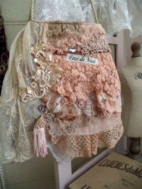 fete de nuit attic purse shabby chic style and chic