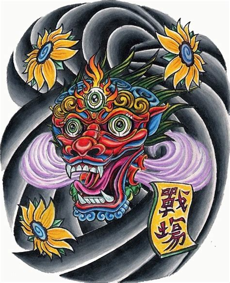 japanese face tattoo designs 23 best images about japanese designs on