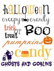 Halloween Decorations To Print Halloween Printable Decorations Pinterest