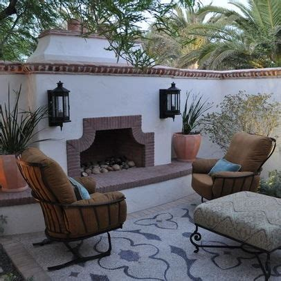 mexican outdoor fireplace outdoor fireplace mexican patios