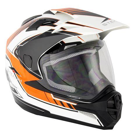 motocross helmets ebay stealth hd009 adventure dual sport motocross motorcycle