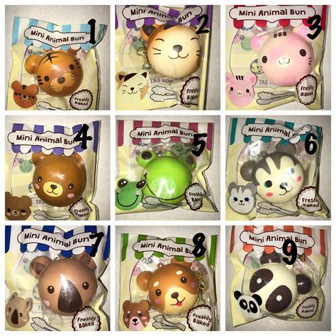 Aninal Bun Punimaru puni maru mini animal bun squishy 183 ilovesquishies803
