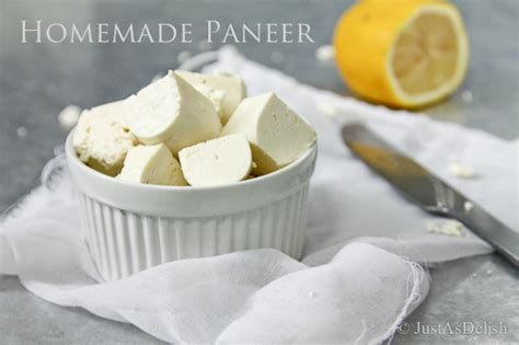 Home Made Cottage Cheese by Paneer Indian Cottage Cheese Justasdelish