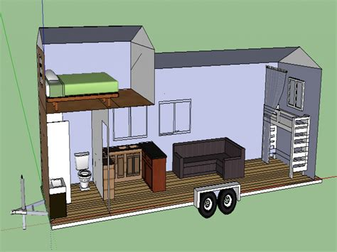 Tiny House Plans On Trailer | tiny romantic cottage house plan tiny house plans on