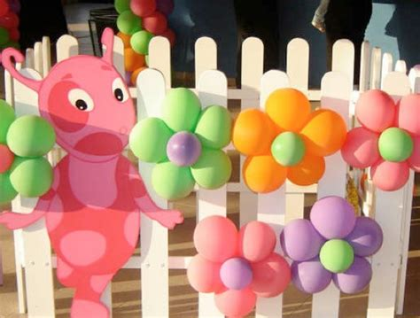 easy party decorations to make at home balloon decoration ideas kids kubby