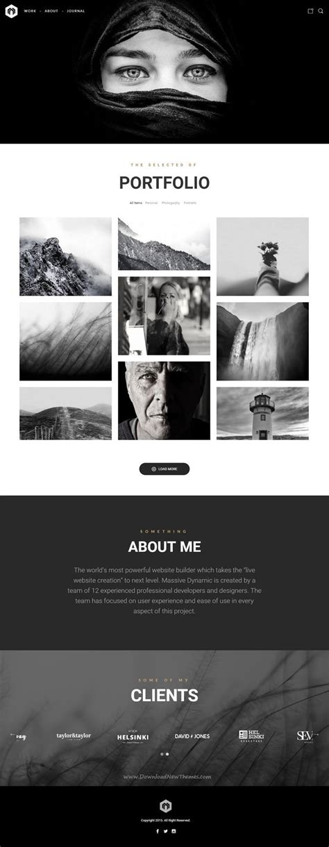 themeforest massive dynamic 17 best ideas about web design on pinterest website