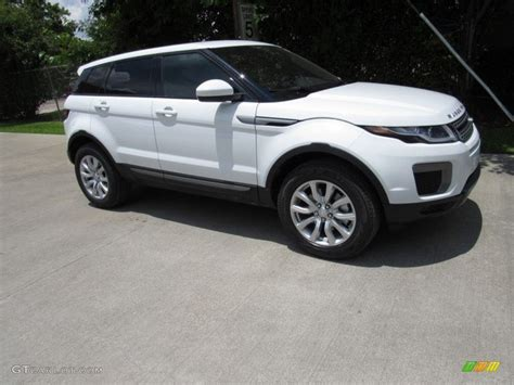 white land rover interior 2017 fuji white land rover range rover evoque se