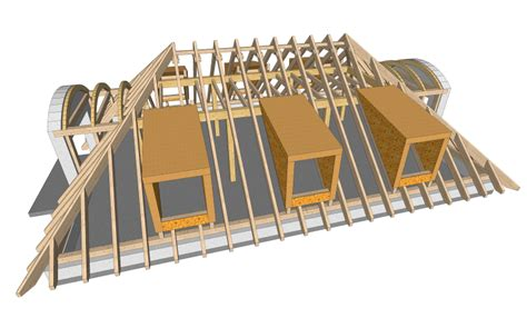walmdach konstruktion konstruktion in 3d zimmerei bertl