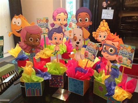 67 best images about luna s bubble guppies party on