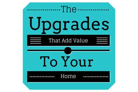 home upgrades that do add value