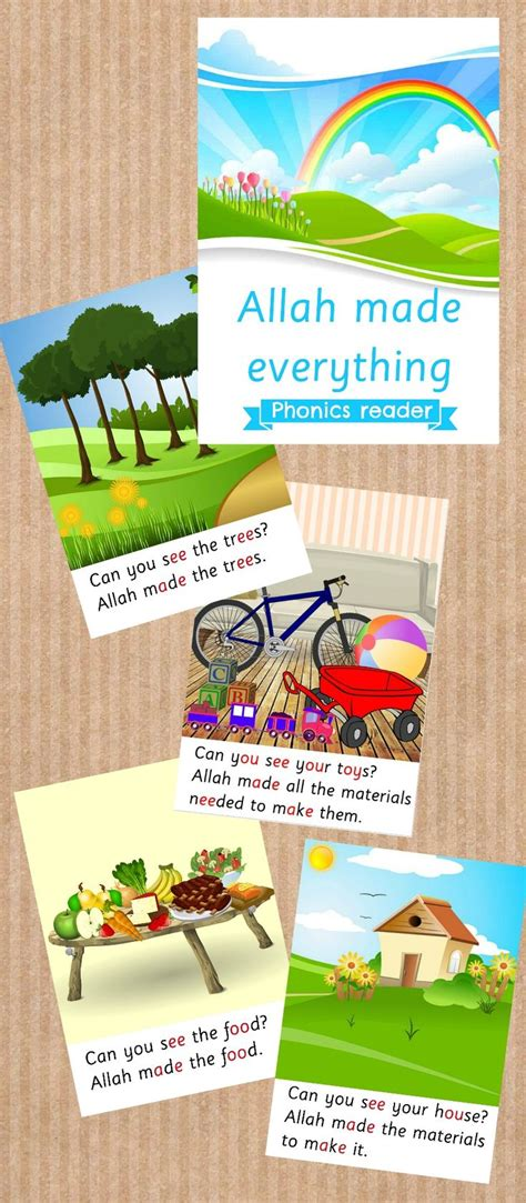 libro the everything kids learning phonic reader for muslim kids practice reading whilst learning that allah made everything