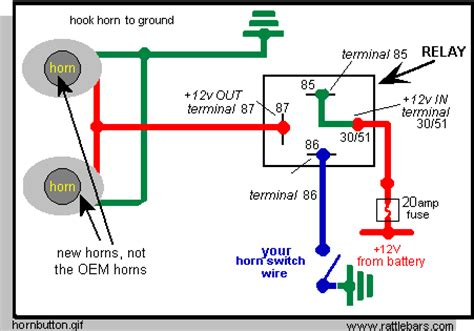 horn relay wiring diagram i want to mount a stebel nautilus compact air horn on my