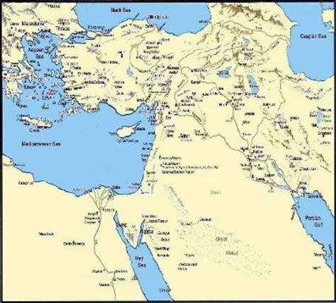 middle east map with labels christian fables world labels and sound doctrine