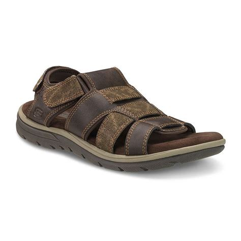 mens skechers sandals new mens skechers sandals brown select sizes ebay