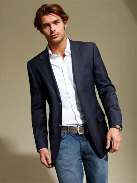 how to wear a blazer jacket with jeans mens style guide 17 images about sport coats blazers and jeans on