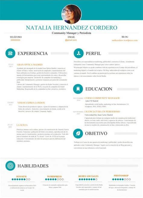 Mejor Modelo Curriculum España M 225 S De 25 Ideas Incre 237 Bles Sobre Mejor Curriculum Vitae En La Mejor Plantilla Para