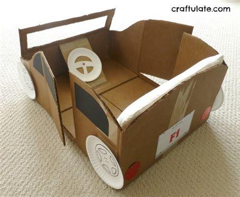 box car for cardboard box car craftulate