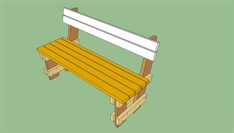 bench with backrest plans woodwork bench with back plans pdf plans