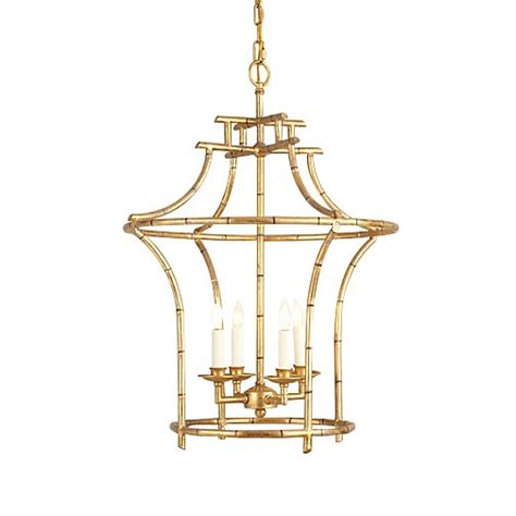 Antique Gold Faux Bamboo Chandelier Bamboo Chandelier