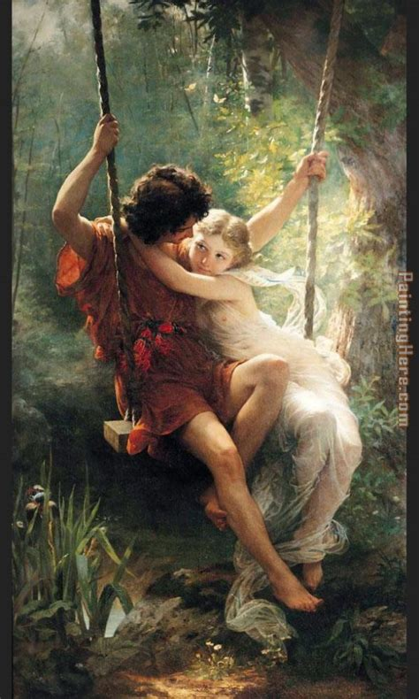 renoir swing auguste cot spring painting anysize 50 off