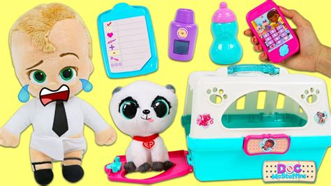 baby forever puppy baby s forever puppy visits doc mcstuffins pet vet hospital playset