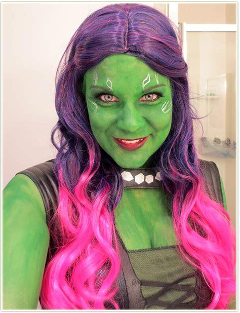 guardians of the galaxy wig gamora 4999 wigs halloween 2014 part 2 guardians of the galaxy makeup